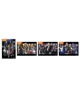 NEO The World Ends With You Square Enix Cafe Goods Placemats BLIND PACKS