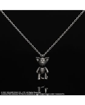 The World Ends With You Square Enix Goods Silver Necklace Mr. Mew Moving Pendant