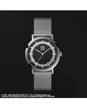 Final Fantasy VII Remake Square Enix Shinra Company Stainless Steel Watch