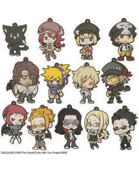 The World Ends With You the Animation Square Enix Rubber Strap BLIND PACKS