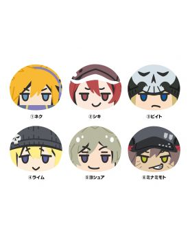 The World Ends With You the Animation Ensky Omanju Keychains Set