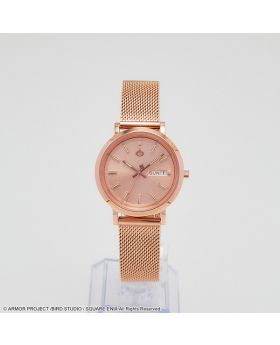 Dragon Quest Square Enix 35th Anniversary Metal Slime Watch Rose Gold 34mm Model