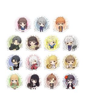 Fruits Basket Dash Store Collaboration Goods Chibi Can Badge BLIND PACKS