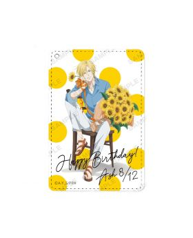 BANANA FISH Animate Ash Lynx Birthday Goods Pass Case