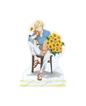 BANANA FISH Animate Ash Lynx Birthday Goods BIG Acrylic Stand
