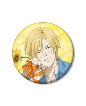BANANA FISH Animate Ash Lynx Birthday Goods Can Badge
