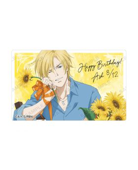 BANANA FISH Animate Ash Lynx Birthday Goods Card Sticker