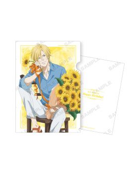 BANANA FISH Animate Ash Lynx Birthday Goods Clear File