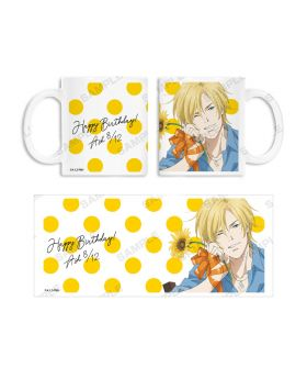 BANANA FISH Animate Ash Lynx Birthday Goods Mug
