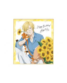 BANANA FISH Animate Ash Lynx Birthday Goods Illustration Board