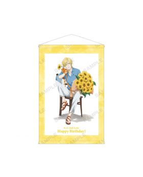 BANANA FISH Animate Ash Lynx Birthday Goods Tapestry