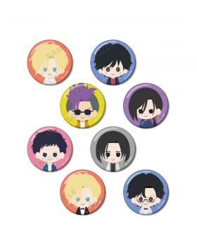 BANANA FISH Amnibus NordiQ Can Badge SET