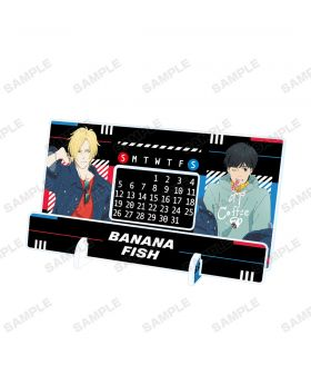 BANANA FISH Pop Up Shop Shibuya109 Acrylic Calendar