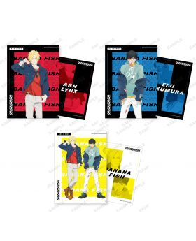 BANANA FISH Pop Up Shop Shibuya109 Clear File
