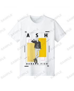 BANANA FISH Pop Up Shop Shibuya109 T-Shirt Ash Lynx