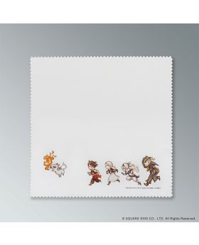 Bravely Default 2 Square Enix Cafe Goods Cleaning Cloth