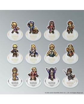 OCTOPATH TRAVELER Square Enix Cafe Goods Pixel Acrylic Stand BLIND PACKS
