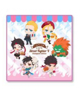 CAPCOM Street Fighter Cafe Goods Hand Towel
