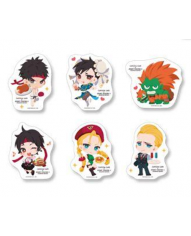 CAPCOM Street Fighter Cafe Goods Die-Cut Sticker