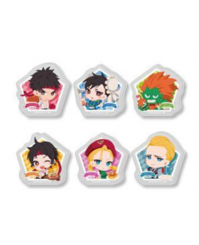 CAPCOM Street Fighter Cafe Goods Acrylic Badge