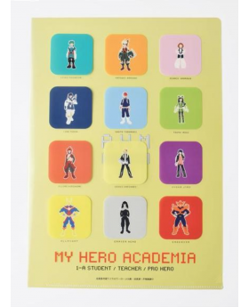 Boku No Hero Academia Hero Plaza Clear File Type A