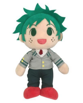 Boku No Hero Academia Hero Plaza Posable Plush Midoriya Izuku Deku