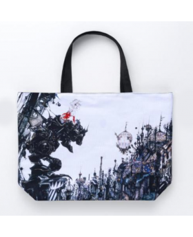 Final Fantasy Amano Artist Collab Reversible Tote Bag City Ver.