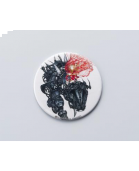 Final Fantasy Amano Artist Collab Big Can Badge Armor Ver.