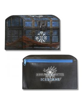 Monster Hunter World: Iceborne CAPCOM Tokyo Store Supply Box Type Flat Pouch