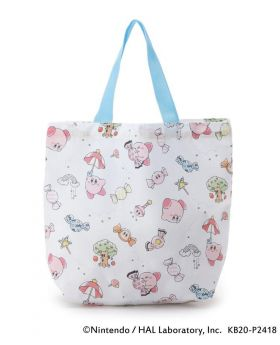 Kirby x ITS'DEMO Summer 2020 Collection Mini Eco Bag White Pattern