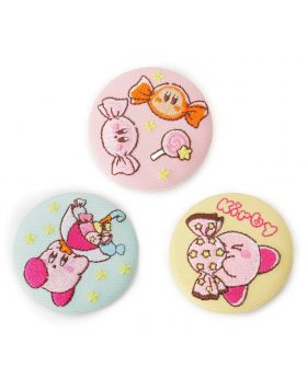 Kirby x ITS'DEMO Summer 2020 Collection Embroidery Can Badge