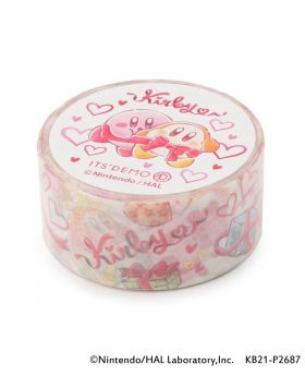 Kirby x ITS'DEMO Goods Washi Tape Pupupu Gift