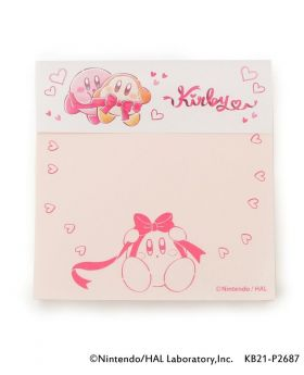 Kirby x ITS'DEMO Goods Sticky Note Pupupu Gift