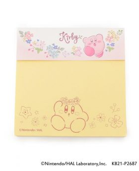 Kirby x ITS'DEMO Goods Sticky Note Star Flower