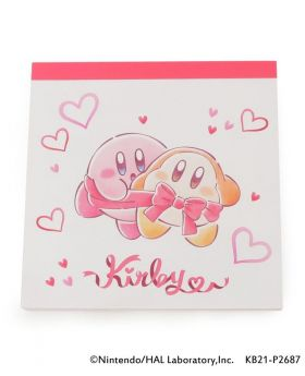 Kirby x ITS'DEMO Goods Memo Pad Pupupu Gift