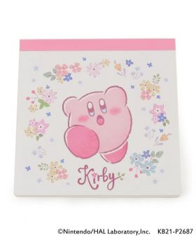 Kirby x ITS'DEMO Goods Memo Pad Star Flower