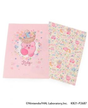 Kirby x ITS'DEMO Goods Clear File Set Star Flower