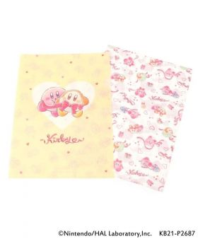 Kirby x ITS'DEMO Goods Clear File Set Pupupu Gift