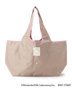 Kirby x ITS'DEMO Goods Large Tote Bag Star Flower