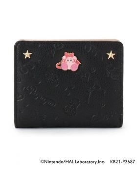 Kirby x ITS'DEMO Goods Mini Wallet Pupupu Gift Black