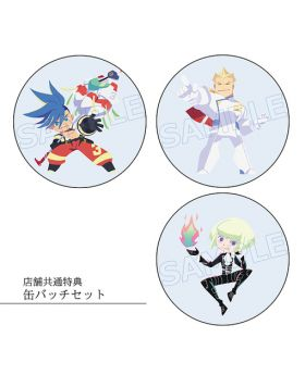 PROMARE Aniplex+ Bonus Items Can Badge SET