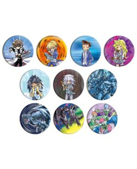 Yu-Gi-Oh! GraffArt Goods Can Badge Vol. 2 SET