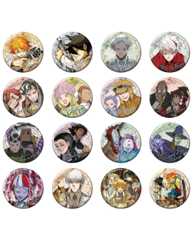 The Promised Neverland Exhibition Goods Collection Ban Badge Vol. 2 BLIND PACKS