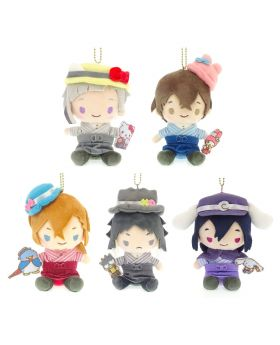 Bungou Stray Dogs Sanrio KThingS Muni Plush Keychains