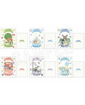 Identity V Sanrio Characters Collection Clear File