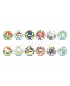 Identity V Sanrio Characters Collection Can Badge BLIND PACKS