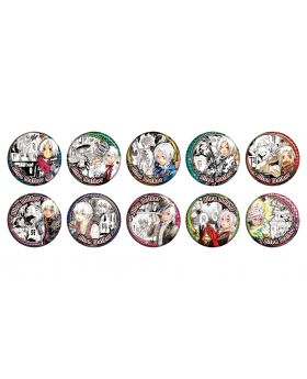 D.Gray Man Katsura Hoshino World Art Exhibition Goods Allen Walker Can Badge BLIND PACKS