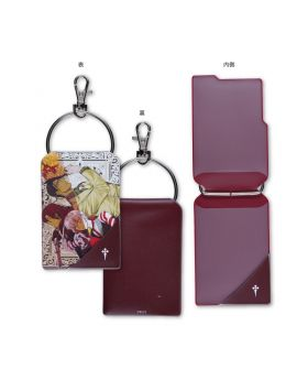 D.Gray Man Katsura Hoshino World Art Exhibition Goods Allen Cross Milennium Earl Pass Case