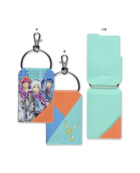 D.Gray Man Katsura Hoshino World Art Exhibition Goods Allen Kanda Lavi Pass Case