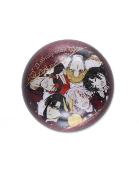 D.Gray Man Katsura Hoshino World Art Exhibition Goods Glass Paper Weight